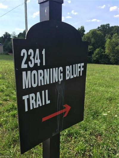 Pfafftown Residential Lots & Land Due Diligence Period: 2341 Morning Bluff Trail
