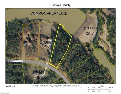Caldwell County Residential Lots & Land For Sale: 5025 Harbor View Drive E
