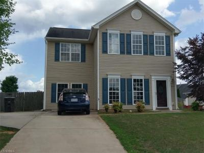 Kernersville Single Family Home Due Diligence Period: 361 Stone Meadow Drive