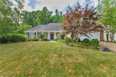 Gibsonville Single Family Home For Sale: 808 Croftwood Drive