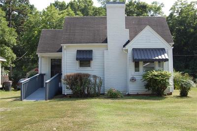 Reidsville NC Single Family Home For Sale: $72,000