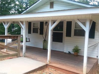 Lexington NC Single Family Home For Sale: $160,000
