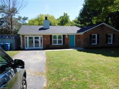 Mocksville Single Family Home Due Diligence Period: 351 N Rolling Hills Lane N