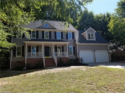 Single Family Home Sold: 1602 Deercroft Court