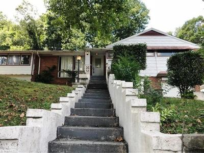 Winston Salem Single Family Home For Sale: 2650 Ellerbe Avenue