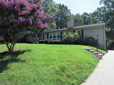 High Point Single Family Home For Sale: 1602 Wendover Drive