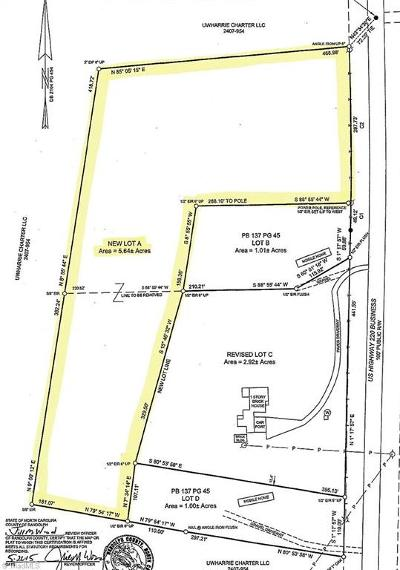 Asheboro Residential Lots & Land For Sale: 5310 Us Highway 220 Bus S