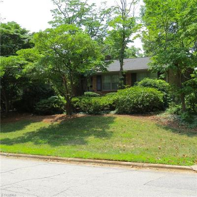 Greensboro Single Family Home For Sale: 1205 Onslow Drive