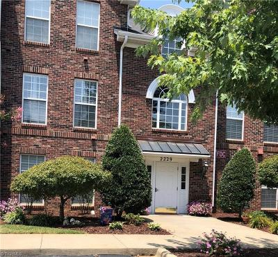 Alamance County Condo/Townhouse For Sale: 2229 Delaney Drive #313