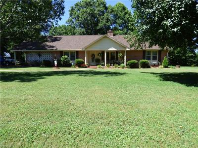 Rockingham County Single Family Home For Sale: 7219 Nc Highway 704