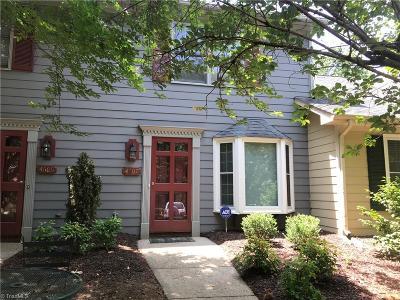 Greensboro Condo/Townhouse For Sale: 4607 Lawndale Drive
