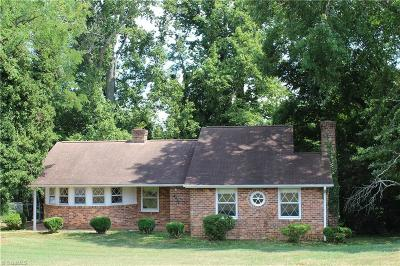 Single Family Home For Sale: 6050 Yadkinville Road