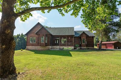 Mocksville Single Family Home For Sale: 473 Cedar Creek Road