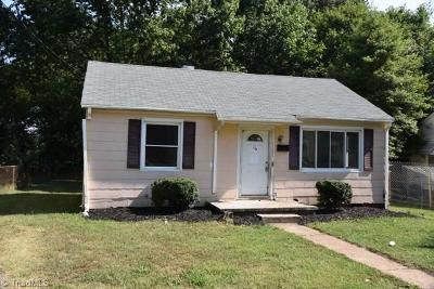 Winston Salem NC Single Family Home For Sale: $27,000