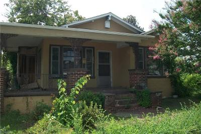 Winston Salem Single Family Home For Sale: 2054 Cherry Street