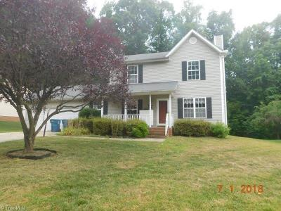Greensboro Single Family Home For Sale: 3991 Orchard Knoll Drive