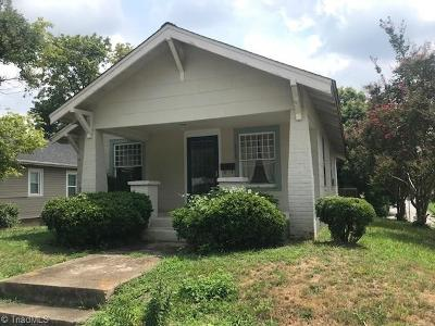 High Point Single Family Home For Sale: 513 W Ray Avenue