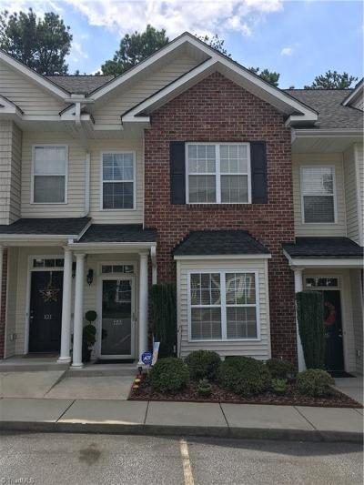 Kernersville Condo/Townhouse For Sale: 123 Humberside Drive