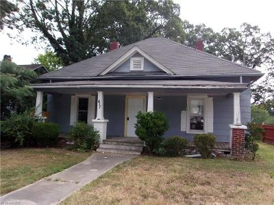 High Point NC Single Family Home For Sale: $29,900