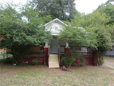 High Point NC Single Family Home For Sale: $19,900