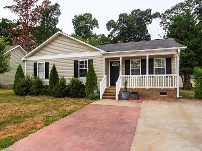 Alamance County Single Family Home For Sale: 1248 Vincent Drive