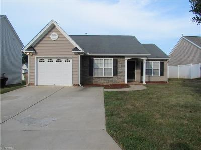 Greensboro Single Family Home For Sale: 6128 Trotting Place