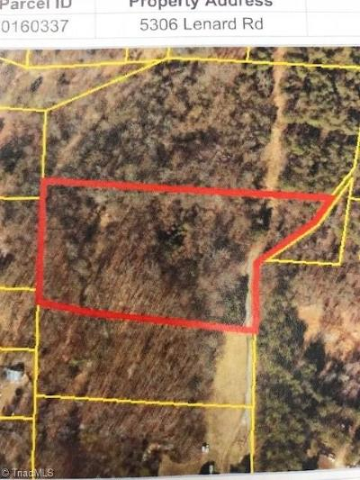Jamestown Residential Lots & Land For Sale: 5306 Lenard Road