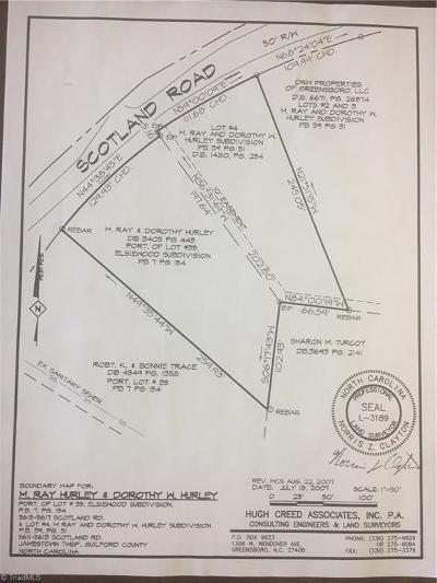 Guilford County Residential Lots & Land For Sale: 5515 Scotland Road