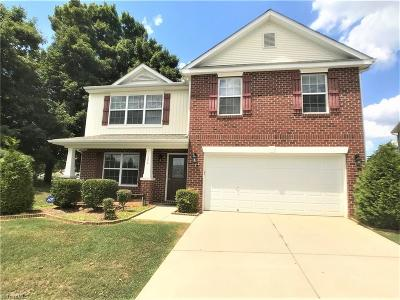 Winston Salem Single Family Home For Sale: 104 Forest Glade Road