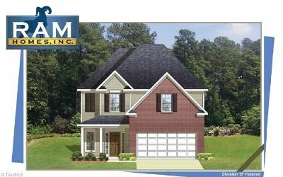 Greensboro Single Family Home For Sale: 4006 Edison Park Road