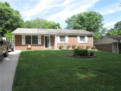High Point Single Family Home For Sale: 1114 Tabor Street