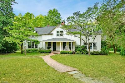 Winston Salem Single Family Home For Sale: 851 Somerset Drive