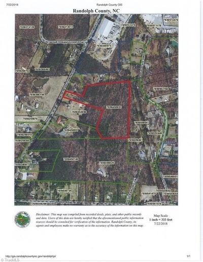 Asheboro Residential Lots & Land For Sale: Southmont Drive