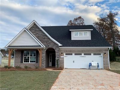 Kernersville Single Family Home For Sale: 433 Melva Lane #Lot 2