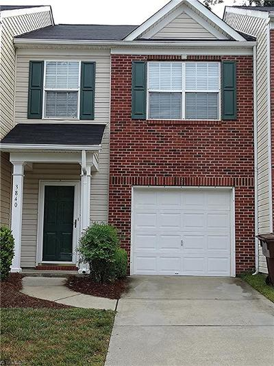 High Point Condo/Townhouse Due Diligence Period: 3840 Tarrant Trace Circle
