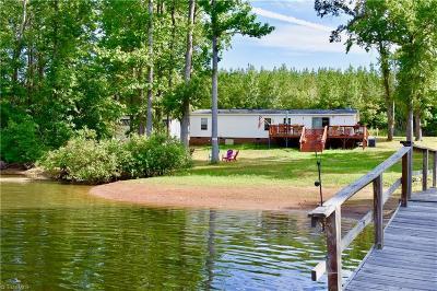 Denton, Lexington, Salisbury, Spencer, Richfield Manufactured Home For Sale: 243 Riverside Drive