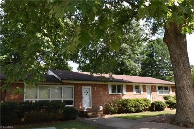 Reidsville Single Family Home For Sale: 209 McCoy Road
