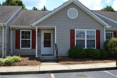 Kernersville Condo/Townhouse Due Diligence Period: 703 Campbell Gardens Road