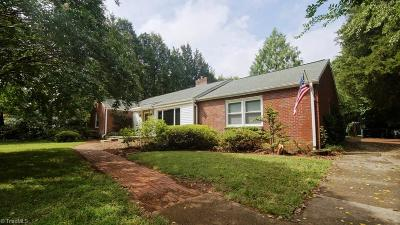 Winston Salem Single Family Home For Sale: 2014 Julius Street