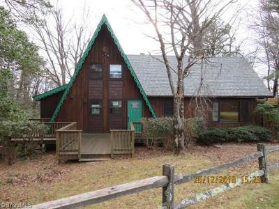 Alleghany County Single Family Home For Sale: 41 Rabbit Run