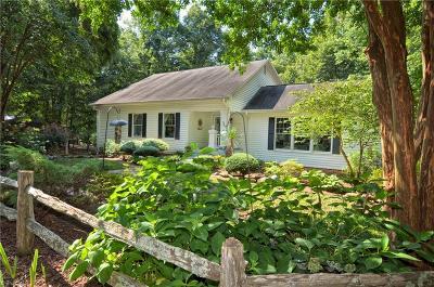 Lexington Single Family Home For Sale: 1271 Bald Head Lane