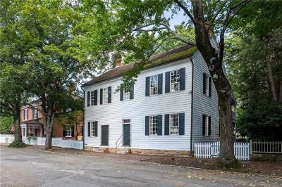 Winston Salem Single Family Home For Sale: 723 S Main Street