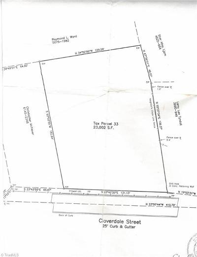 High Point Residential Lots & Land For Sale: 1410 Cloverdale Street