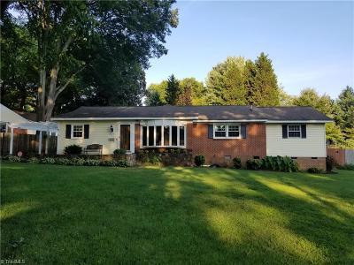 Greensboro NC Single Family Home For Sale: $237,900