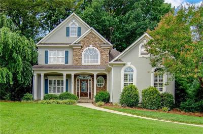 Winston Salem Single Family Home For Sale: 1405 Ridgemere Lane