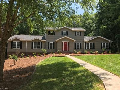 Asheboro Single Family Home For Sale: 304 Westminster Court