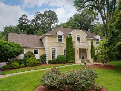 Winston Salem Single Family Home For Sale: 844 Glen Echo Trail