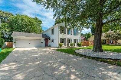High Point Single Family Home For Sale: 3421 Wildwood Avenue