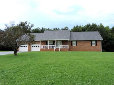 Kernersville Single Family Home Due Diligence Period: 1980 Nc Highway 66 S