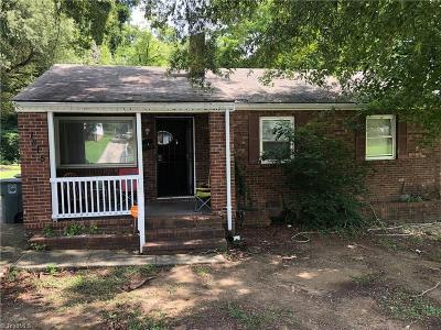 Greensboro Single Family Home For Sale: 1815 Britton Street